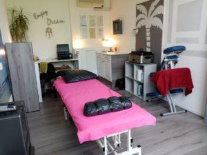 Amida Manueel Fysiotherapie behandelruimte